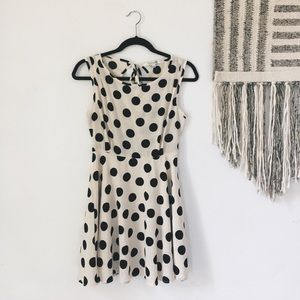 Polk a dot dress